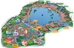 Disney World Epcot Map