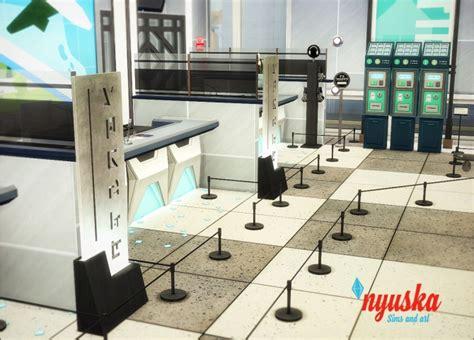 airport interior  nyuska sims  updates