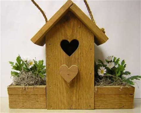 decorative flower pot bird house  wood plans