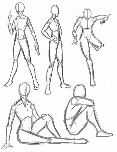 Poses Drawing Anime Reference Pose Deviantart Dessin