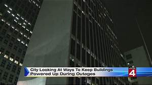 Widespread power outage hits downtown Detroit