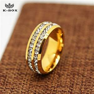 aliexpresscom buy 316l stainless steel 24k gold plated With 24k gold mens wedding rings