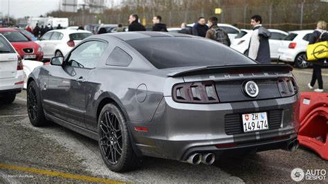 Ford Gt500 by Ford Mustang Shelby Gt500 2013 2 April 2017 Autogespot