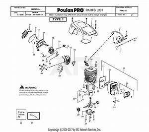33 Poulan Chain Saw Parts Diagram