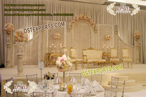 Latest Designer Wedding Stage Decoration Mandap Exporters