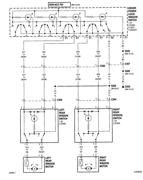 Jeep Power Window Wiring Diagram by I Am Looking For A Wiring Diagram For The Power Window
