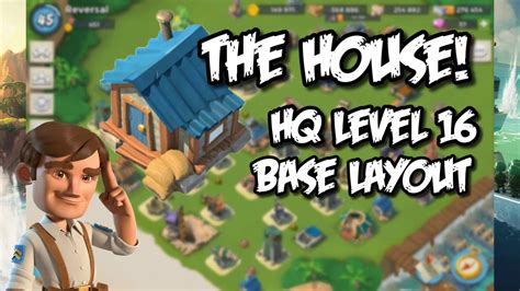 foto de THE HOUSE BASE Boom Beach Best Headquarter 16 & 17