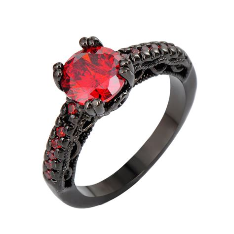 Luxury Red And Black Engagement Rings. Eclectic Wedding Engagement Rings. Asifa Wedding Rings. 24k Gold Wedding Rings. .50ct Engagement Rings. Right Rings. Thin Band Rings. Wife Luke Bryan Wedding Rings. Pierced Rings