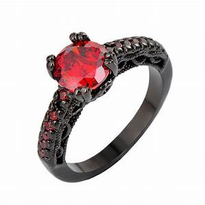 black and red wedding ring wwwimgkidcom the image With red and black wedding ring