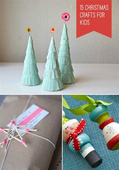 15 Simple Christmas Crafts For Kids ⋆ Handmade Charlotte
