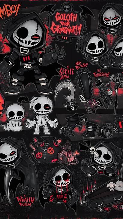 Grim 4k Skulls Reapers Wallpapers Reaper Skull