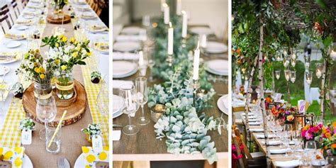 decoration table mariage colore