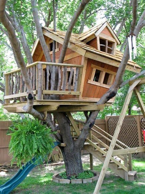 amazing tree house design ideas  love page    yard surfer