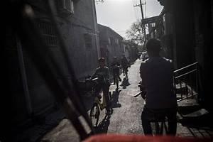 Modern rickshaw drivers in China
