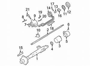Chevrolet Astro Steering Shaft  1985 O Tilt Wheel