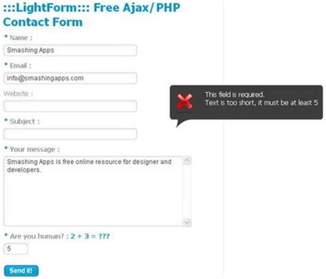 contact php form