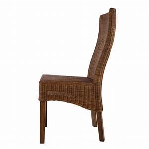 Chaise De Salon Design : neuf chaise en rotin marron camberra chaise de salon ebay ~ Teatrodelosmanantiales.com Idées de Décoration