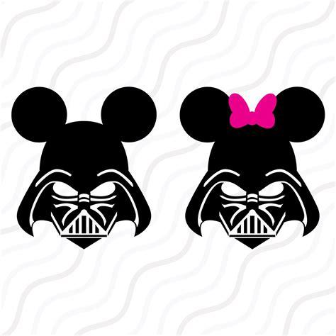 Disney Darth Vader Svg Star War Mickey Svg Mickey Svg Cut