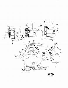 Craftsman Model 919165090 Air Compressor Genuine Parts