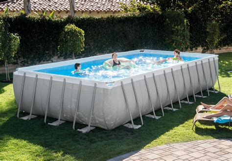 frame pool rechteckig ultra frame rechteckig intex schwimmbad co