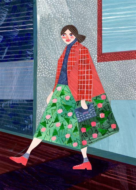 paper collages  alice lindstrom artisticmoodscom