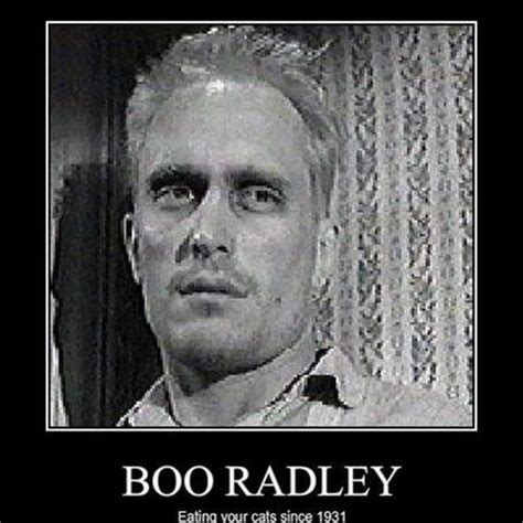 quotes describing boo radley