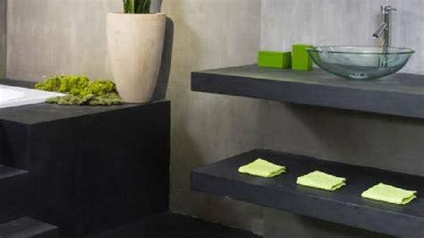 peinture cuisine et salle de bain peinture effet béton pour repeindre du carrelage