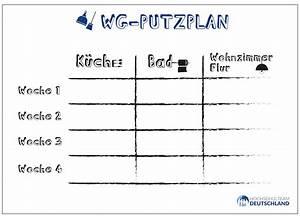 Haushalt Organisieren Plan Vorlage : hier findet ihr unseren putzplan f r ein besser organisiertes zusammenleben in eurer wg ~ Buech-reservation.com Haus und Dekorationen