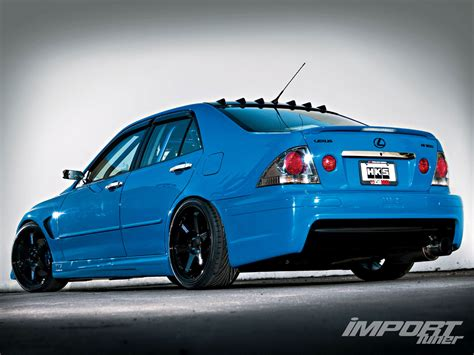 lexus is300 jdm 2003 lexus is300 import tuner magazine view all page