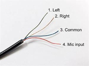 Headphone Wiring Colors