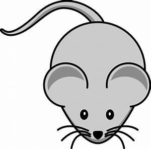 Simple Cartoon Mouse Clip Art at Clker.com - vector clip ...