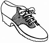 Saddle Vector Shoes Shoe Oxfords Coloring Clip Saddleshoes Template Pages sketch template