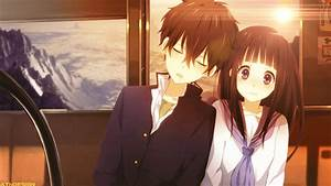 Beautiful Anime Couple Wallpaper HD Images | One HD ...