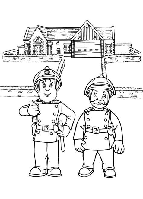 disegni da colorare  sam il pompiere