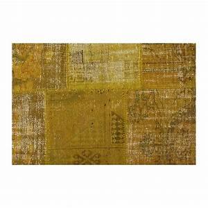 Vintage carpet vintage rug vintage patchwork rug for Tapis patchwork vintage