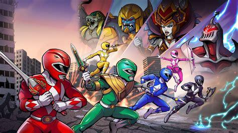 Mighty Morphin Power Rangers Mega Battle Wallpapers