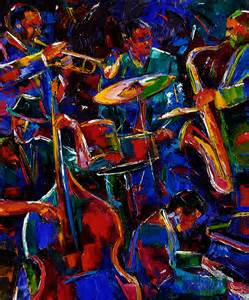 artists of contemporary paintings and abstract jazz paintings