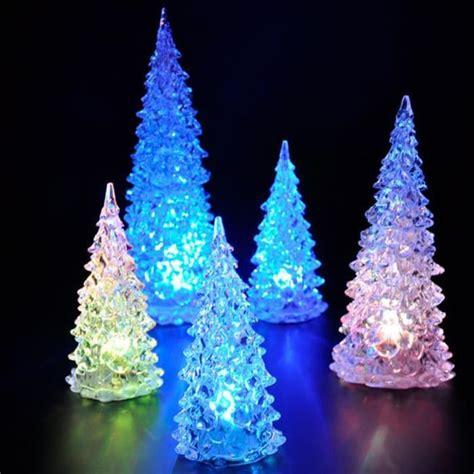 5 pcs sapin de no 235 l artificiel arbre lumineux led nuit d 233 coration achat vente sapin arbre
