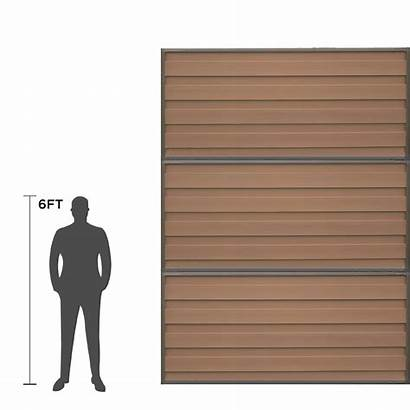 Fence Ft Privacy Horizons Panel Tall Kit