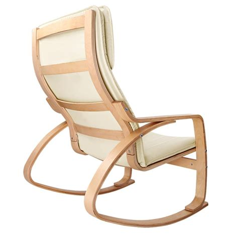 bentwood wooden rocking reading chair with ottoman buy