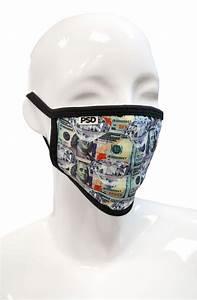 Money Diamond Face Mask