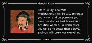 Genghis Khan qu... Hate Exercise Quotes