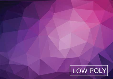 Low Polygonal Background Vector - Download Free Vector Art
