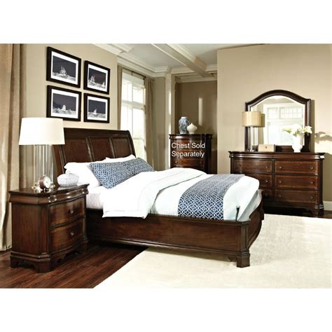 St James International Furniture 6 Piece Queen Bedroom Set