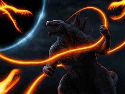 Godzilla Cool 4k Wallpapers King Monsters Ghidorah