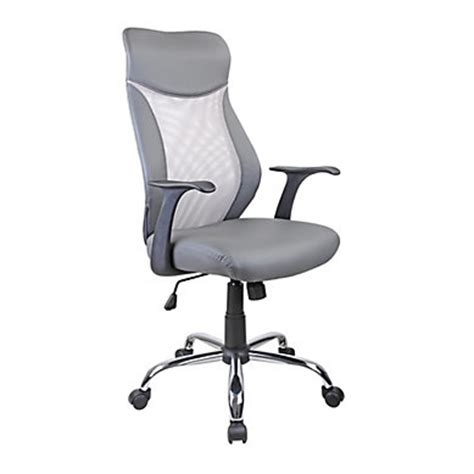 fauteuil de bureau gris chaise et fauteuil de bureau pas cher but fr