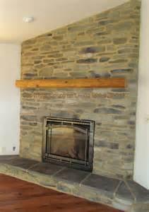 Rustic Corner Fireplace Mantels