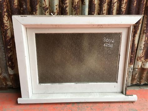 timber awning window frosted glass