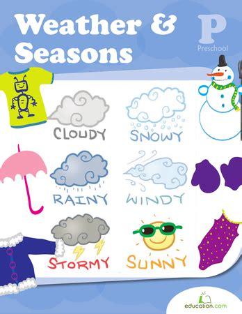weather seasons workbook education