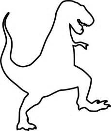 T-Rex Silhouette Clip Art